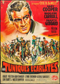 """Movie Posters:Adventure, North West Mounted Police (Universal International, R-1950s).Trimmed French Grande (44.5"""" X 62""""). Adventure.. ..."""