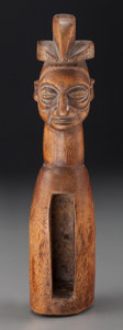 Tribal Art, YAKA, Democratic Republic of Congo. Slit Gong ...