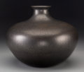 American Indian Art:Pottery, A Nambe Black Micaceous Jar. Lonnie Vigil (b. 1949). c. 2000...