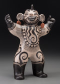 American Indian Art:Pottery, A Cochiti Polychrome Figure . Virgil Ortiz. c. 2004...
