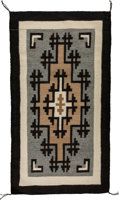 American Indian Art:Weavings, A Contemporary Navajo Regional Rug. Two Gray Hills. NonahbadWilson...