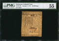 Colonial Notes:Delaware, Delaware January 1, 1776 20s PMG About Uncirculated 55.. ...