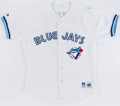 Baseball Collectibles:Uniforms, 1996 Juan Guzman Game Worn Toronto Blue Jays Jersey. ...
