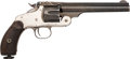 Handguns:Single Action Revolver, Smith & Wesson New Model No. 3 American Single Action Revolver....