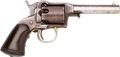 Handguns:Single Action Revolver, Cased Remington Beals Single Action Percussion Revolver....