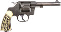 Handguns:Double Action Revolver, Colt U.S. Army Model 1917 Double Action Revolver with Holster.... (Total: 2 Items)