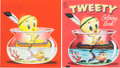 Animation Art:Production Drawing, Tweety Coloring Book #2953 Cover Illustration (Whitman,1955)....