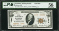 National Bank Notes:Pennsylvania, Windber, PA - $20 1929 Ty. 2 Citizens NB Ch. # 14082. ...