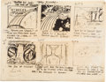 Animation Art:Production Drawing, The Marvel Super Heroes Storyboards (Grantray-Lawrence,1966)....