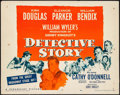 "Movie Posters:Crime, Detective Story (Paramount, 1951). Half Sheet (22"" X 28"") Style A. Crime.. ..."