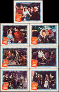 """Movie Posters:Adventure, Mrs. Mike & Other Lot (United Artists, 1949). Lobby Cards (7)& Spanish Language Lobby Cards (6) (11"""" X 14""""). Adventure.. ...(Total: 13 Items)"""