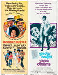 "Movie Posters:Blaxploitation, Monkey Hustle & Other Lot (American International, 1976).Inserts (2) (14"" X 36""). Blaxploitation.. ... (Total: 2 Items)"