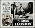 "Movie Posters:Foreign, La Grande Illusion (Europeas S.A., 1937). Argentinean Lobby Card (11"" X 14""). Foreign.. ..."