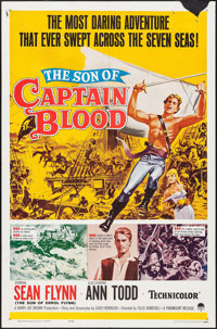 "The Son of Captain Blood & Others Lot (Paramount, 1963). One Sheets (2) (27"" X 41""), Title Lobby Cards..."