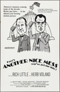 "Movie Posters:Comedy, Another Nice Mess (Fine Films, 1972). One Sheet (27"" X 41"").Comedy.. ..."