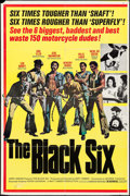 "Movie Posters:Blaxploitation, The Black Six (Cinemation Industries, 1973). Trimmed One Sheet (25""X 38""). Blaxploitation.. ..."