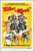 "Movie Posters:Action, Killers on Wheels (Howard Mahler Films, 1970). One Sheet (27"" X41""). Action.. ..."