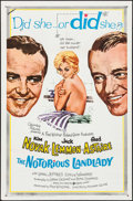"""Movie Posters:Comedy, The Notorious Landlady & Other Lot (Columbia, 1962). One Sheets (2) (27"""" X 41""""). Comedy.. ... (Total: 2 Items)"""