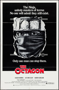 "The Octagon & Others Lot (American Cinema, 1980). One Sheets (3) (27"" X 39"" & 27"" X 41""). Ac..."