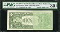 Error Notes:Ink Smears, Fr. 1917-E $1 1988A Web Federal Reserve Note. PMG Choice Very Fine35 EPQ.. ...