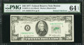 Error Notes:Foldovers, Fr. 2072-A $20 1977 Federal Reserve Note. PMG Choice Uncirculated64 EPQ.. ...