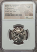 Ancients:Greek, Ancients: SELEUCID KINGDOM. Philip I Philadelphus (ca. 95-75 BC).AR tetradrachm. NGC VF....