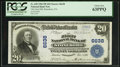 National Bank Notes:Pennsylvania, Stoneboro, PA - $20 1902 Plain Back Fr. 650 The First NB Ch. #6638. ...
