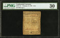 Colonial Notes:Continental Congress Issues, Continental Currency February 17, 1776 $1/2 PMG Very Fine 30.. ...