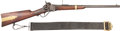 Long Guns:Single Shot, Sharps New Model 1859 Percussion Breechloading Saddle Ring Carbine with Carbine Sling....