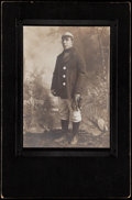Baseball Collectibles:Photos, Cabinet Photograph of Unidentified Baseball Player....
