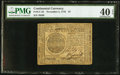 Colonial Notes:Continental Congress Issues, Continental Currency November 2, 1776 $7 PMG Extremely Fine 40EPQ.. ...