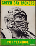 Football Collectibles:Publications, 1961 Green Bay Packers Yearbook. ...
