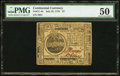 Colonial Notes:Continental Congress Issues, Continental Currency July 22, 1776 $7 PMG About Uncirculated 50.....