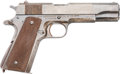 Handguns:Semiautomatic Pistol, Union Switch & Signal Co. Model 1911 A1 US Army Semi-AutomaticPistol....