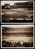Football Collectibles:Photos, 1940 Vintage Green Bay Packers Photographs (8). ...