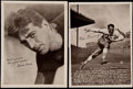 Football Collectibles:Photos, 1935 National Chicle Premiums Collection (9)....