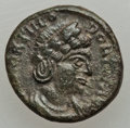 Ancients:Ancient Lots  , Ancients: Theodora, wife of Constantius I (died before AD 337?). Æ4. Choice VF....
