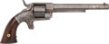 Handguns:Single Action Revolver, Engraved Bacon Mfg. Co. Single Action Revolver....