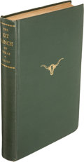 Books:Signed Editions, J. Evetts Haley. The XIT Ranch of Texas,...