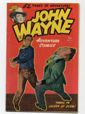 Golden Age (1938-1955):Western, John Wayne Adventure Comics #6 (Toby Publishing, 1950) CGC VG+ 4.5 Off-white pages.
