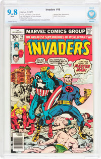 The Invaders #16 (Marvel, 1977) CBCS NM/MT 9.8 White pages