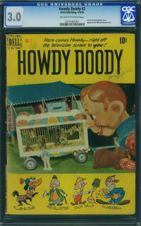 Howdy Doody #2 (Dell, 1950) CGC GD/VG 3.0 Off-white to white pages