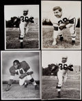 Football Collectibles:Photos, Vintage Cleveland Browns Photographs Lot of 4. ...