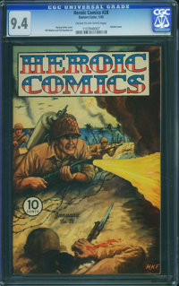 Heroic Comics #28 (Eastern Color, 1945) CGC NM 9.4 Cream to off-white pages