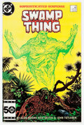 Modern Age (1980-Present):Horror, Saga of the Swamp Thing #37 (DC, 1985) Condition: FN/VF....