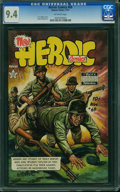 Golden Age (1938-1955):Adventure, Heroic Comics #69 (Eastern Color, 1951) CGC NM 9.4 Off-white pages.