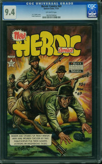 Heroic Comics #69 (Eastern Color, 1951) CGC NM 9.4 Off-white pages