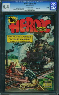 Heroic Comics #52 - File Copy (Eastern Color, 1949) CGC NM 9.4 Off-white pages