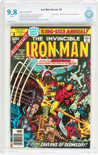 Iron Man Annual #4 (Marvel, 1977) CBCS NM/MT 9.8 White pages
