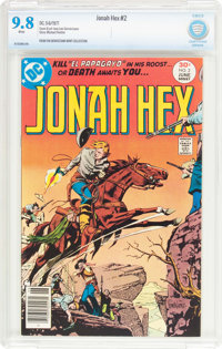 Jonah Hex #2 (DC, 1977) CBCS NM/MT 9.8 White pages